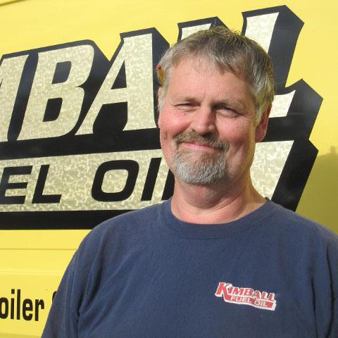 Allen Dunham, HVAC Service Technician for Kimball Fuel