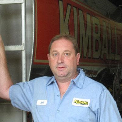 Jeffrey Stockwell, Vice President & Plant Manager of Kimball Fuel